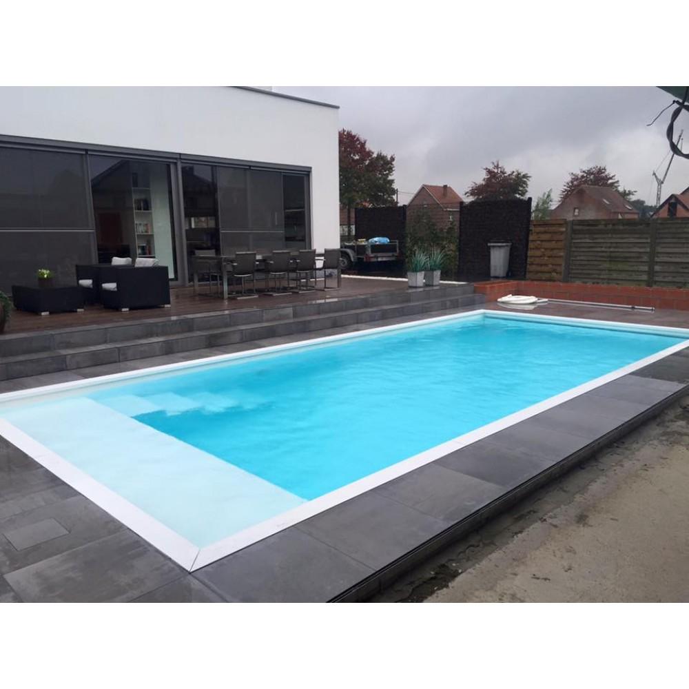 Monobloc hdpe zwembad 3x6x1 5 meter monobloc hdpe comfort for Zwembadbenodigdheden