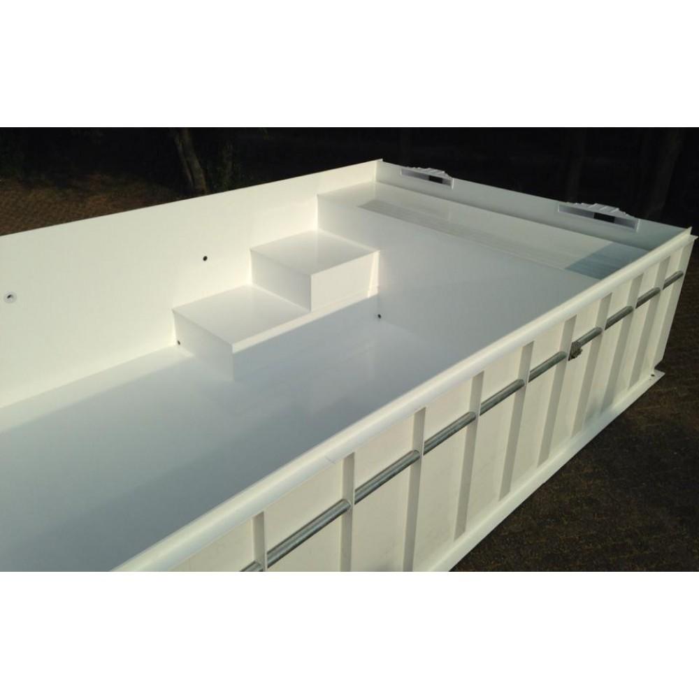 Monobloc hdpe zwembad 3x6x1 5 meter monobloc hdpe for Zwembadbenodigdheden